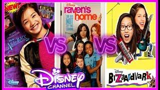 Andi Mack , Raven's Home , Bizaardvark Musical.ly Battle | Famous Disney Stars musically 2017