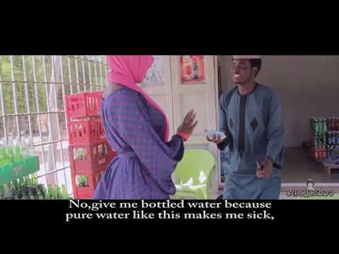 Bottled water | bushkiddo yayi maganin wata budurwa me shan ruwan roba