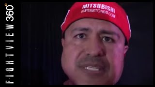 ROBERT GARCIA WORKING ON MIKEY SOFT BODY! SEES SOMETHING! MIKEY & ABNER BEATING SPENCE & TANK DAVIS!