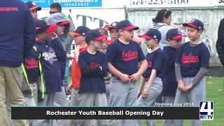 Rochester Youth Baseball Opening Day 2018