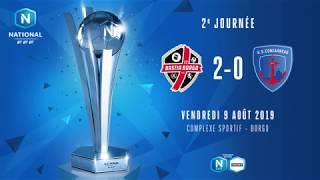 J2 : FC Bastia-Borgo - US Concarneau (2-0), le résumé