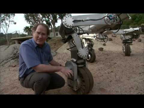 Athlete, el vehiculo que permitira la conquista de la luna