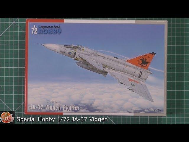 JA-37 Viggen fighter plastik kit 1//72 Special Hobby 100-SH72384