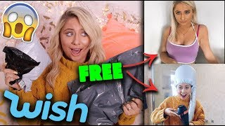 I bought FREE 'stuff' from WISH!!! * YOU WON'T BELIEVE IT* 😱