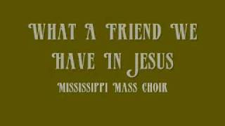 Rev. James Cleveland - What A Friend We Have In Jesus
