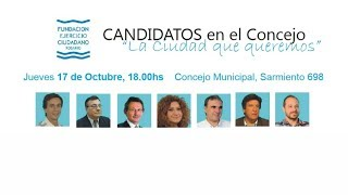 preview picture of video 'Debate de Candidatos a Concejal - Venado Tuerto'