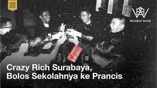 Bondo Wani dengan Host Dono Pradana akan menjelajah sisi lain kehidupan dengan komedi. Pada Eps 7 kali ini Dono mendapatkan kesempatan untuk bertemu sekaligus bebincang dengan Crazy Rich Surabaya, penasaran dengan keseruannya? Mari kita saksikan video ini, NO SKIP SKIP!!   Sosial Media :  Dono Pradana : https://www.instagram.com/donopradana/  Crazy Rich Surabaya : https://www.instagram.com/crazyrichsurabayans/   Merchandise MLI :  https://www.tokopedia.com/mlimerchandise  https://www.shopee.com/mlimerchandise ------- Terima Kasih, dengan menononton video ini, anda sudah membuat kami lebih kaya sedikit! Jangan lupa sebarkan, like dan SUBSCRIBE...   Jadilah bagian dari komedi Indonesia yang sudah pasti Lucu...  https://www.majelislucuindonesia.com