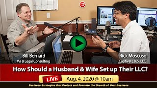 How Should a Husband & Wife Set up Their LLC?
