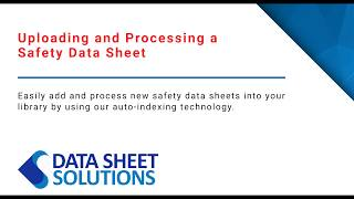 Data Sheet Solutions video