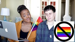 Gay Moms Reacting To Anti Gay Ads