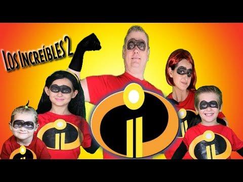 Los Increibles 2 - Disfraz y Maquillaje Mr Increíble, Elastigirl, Violeta, Dash y Jack Jack