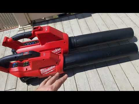 Milwaukee 18v Fuel Gen2 Brushless Blower Review (2724-20)