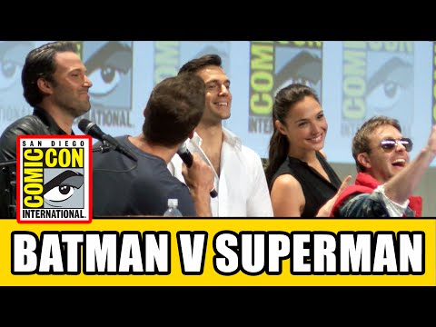 Batman V Superman Comic Con 2014 Panel - Henry Cavill, Ben Affleck & Gal Gadot | MTW