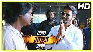 Vai Raja Vai Movie Climax | Dhanush entry saving Gautham from Daniel | End Credits
