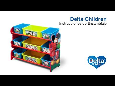 Vídeo de Ensamblaje del Organizador de Juguetes con 9 Cestas Delta Children