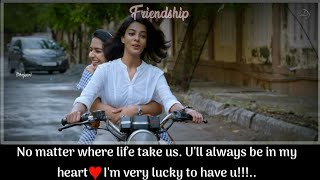 ♥Girls Friendship Status♥💕 Most Hearttouching  Status💕Sisters Whatsapp Status💕Sad Status Tamil💕