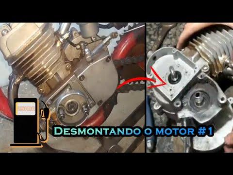 Como desmontar um motor de bicicleta motorizada, Parte 1 - 🛠 🛠 🛠