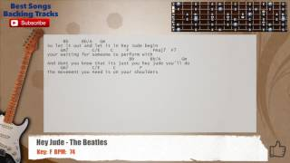 Hey Jude - The Beatles Guitar Backing Track with   - YouTube