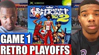 NBA Retro Playoffs Game 1 - EPIC ROMO??   NBA Street Vol. 2 (Xbox)