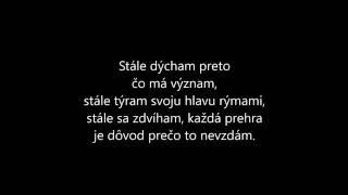 SIMA feat. Pil C - Môj svet text (verzia pre spev)