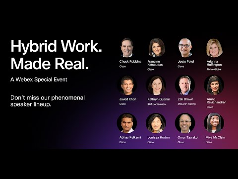 , title : 'Hybrid Work. Made Real. A Webex Special Event.'
