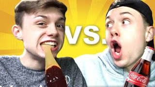 GUMMY FOOD vs REAL FOOD CHALLENGE