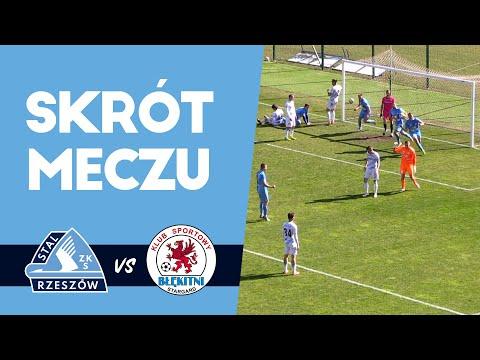 WIDEO: Stal Rzeszów - Błękitni Stargard 2-2 [SKRÓT MECZU]