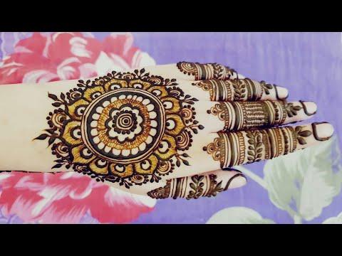Special Mandala Henna Design For Eid 2018 Heena Vahid