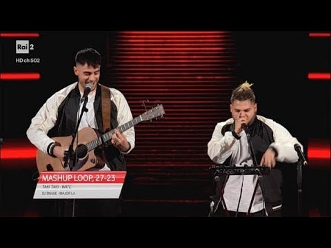 TAKI TAKI, WATCH OUT FOR THIS, PUMP IT - MASHUP LOOP - blind auditions - The Voice of Italy 2019