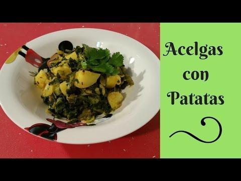 #Acelgas con Patatas - Receta fácil, rápida y saludable - Dieta Disociada