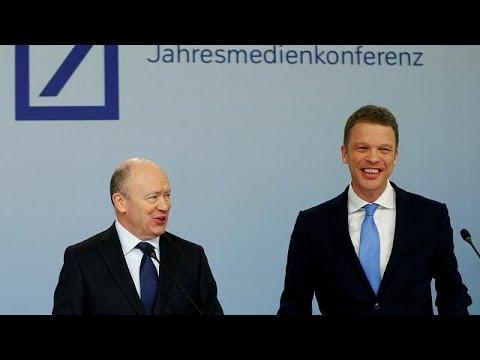 Θετικά μηνύματα για την αλλαγή σκυτάλης στην Deutsche Bank