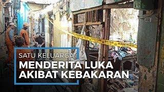 Satu Keluarga Menderita Luka Bakar akibat Kebakaran di Tanjung Priok