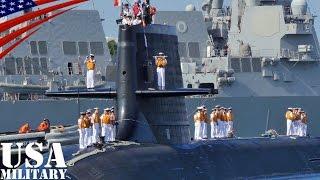 自衛隊の「そうりゅう型」潜水艦がハワイ・真珠湾に寄港-JapaneseSōryūClassSubmarineatPearlHarbor