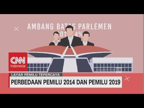 Perbedaan Pemilu 2014 & Pemilu 2019