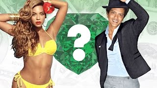 WHO'S RICHER? - Beyonce or Bruno Mars? - Net Worth Revealed!