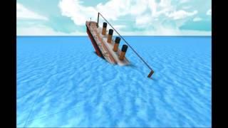 Roblox: Titanic Sinking