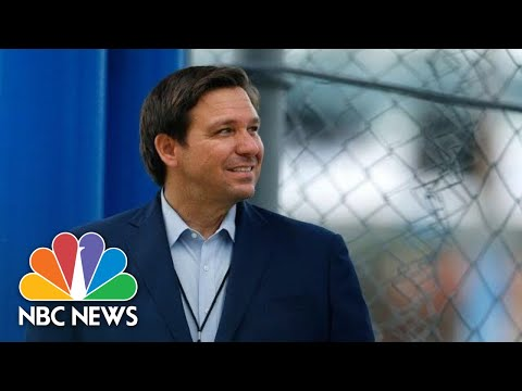 Live: Florida Gov. Ron DeSantis Holds Coronavirus Briefing | NBC News