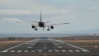 BEAUTIFUL LANDINGS - Front view spotting in LANZAROTE