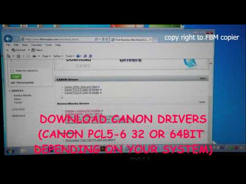 canon ir3300 driver for windows 7 64 bit