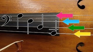 How to Read Music on Cello - Open Strings | Basics of Cello