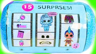 REAL OR FAKE BOY LOL SURPRISE DOLL at Barbie Chelsea Skate Ramp Park