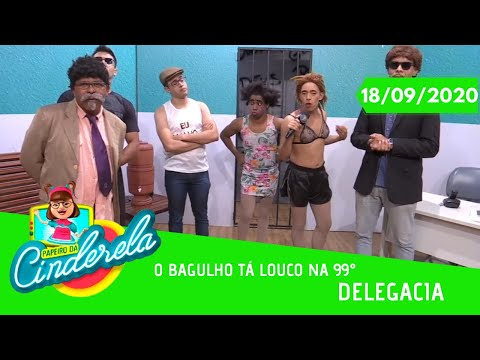 PAPEIRO DA CINDERELA - Exibido sexta-feira 18/09/2020
