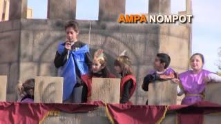 preview picture of video 'Desfile y Embajada de los alumnos del C.P. JORGE JUAN.  AMPA NOMPOT'