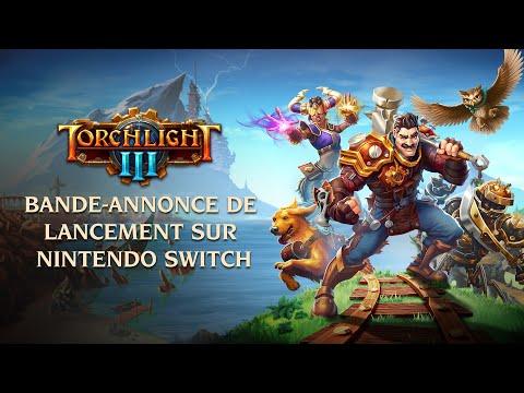 Sortie du jeu sur Switch de Torchlight III
