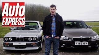 BMW E30 M3 vs BMW 320d - Auto Express