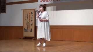 涙の鎖(キムヨンジャ)カバー、陸前高田の山本真弓さん