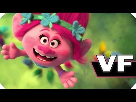 LES TROLLS - NOUVELLE Bande Annonce VF (Animation - 2016)