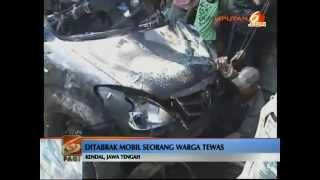 Video Tabrak Warga, Mobil FPI Dibakar Massa Di Kendal