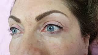 Latino Eyeliner + Healed Microbladed brows by El Truchan @ Perfect Definition