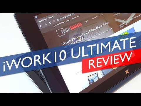 Cube iWork10 Ultimate Dual OS Review